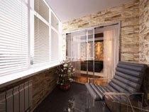 ремонт, отделка балкона в Саранске